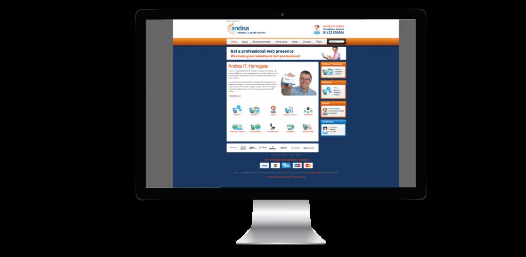 Andisa IT Website