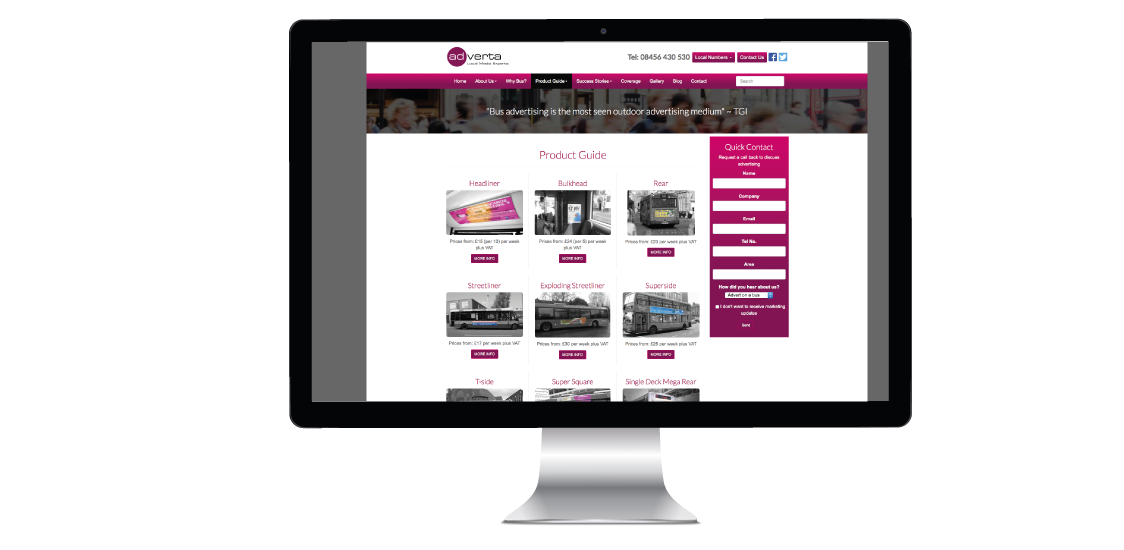 Brochure Website Design | Image Concepts