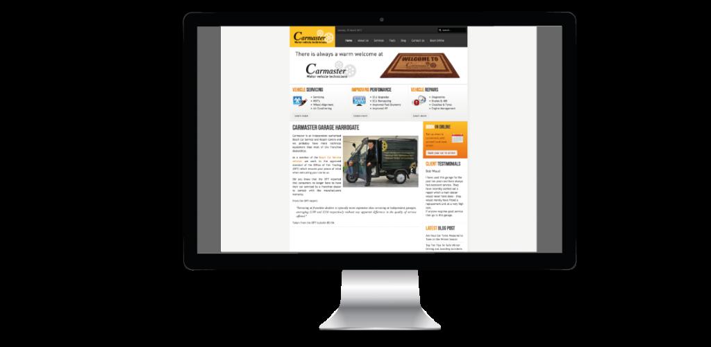 Carmaster Garage Website Design