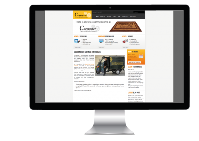 Carmaster Garage Website Design