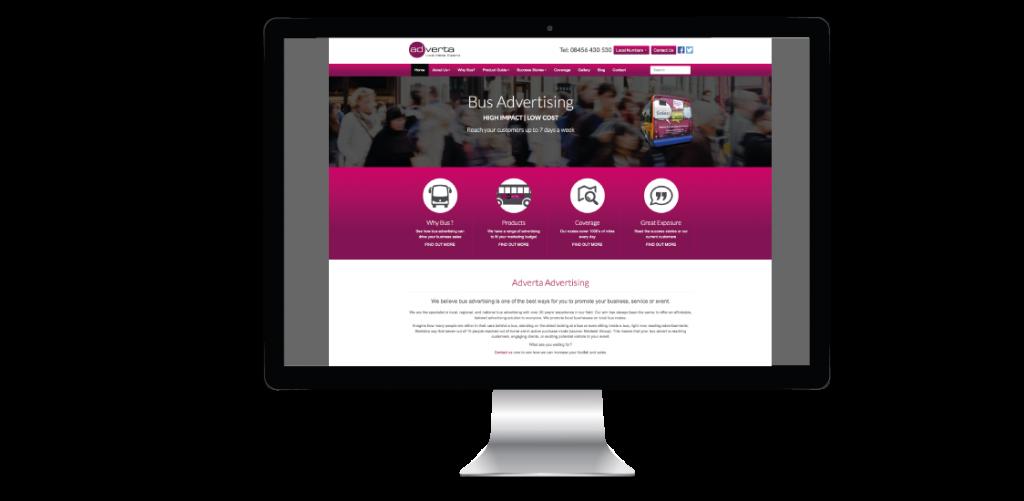 Website Design Adverta