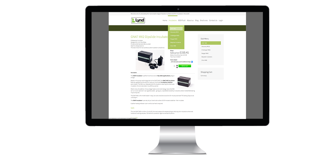 Ecommerce Website – Manufacturing