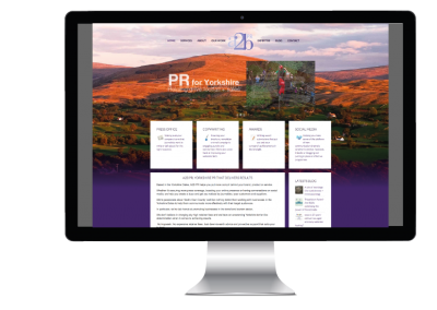 Pr website design