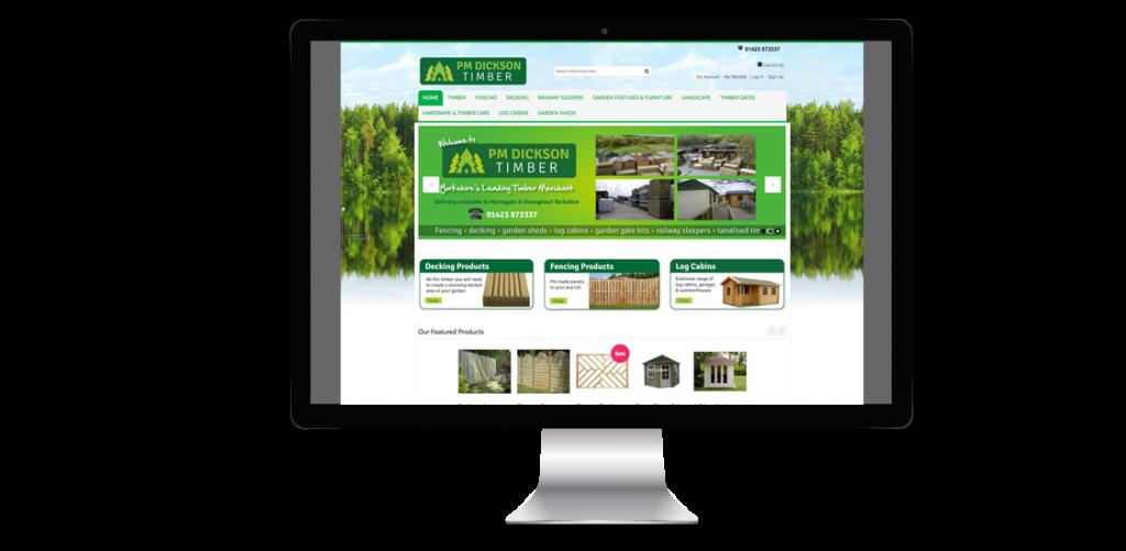 Wood Yard Ecommerce Website