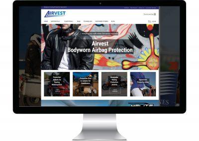 Airvest Website