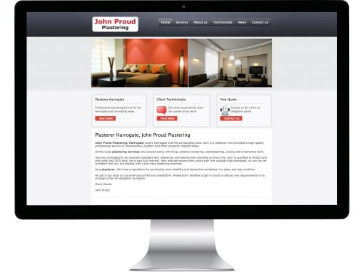 Plasterers Website