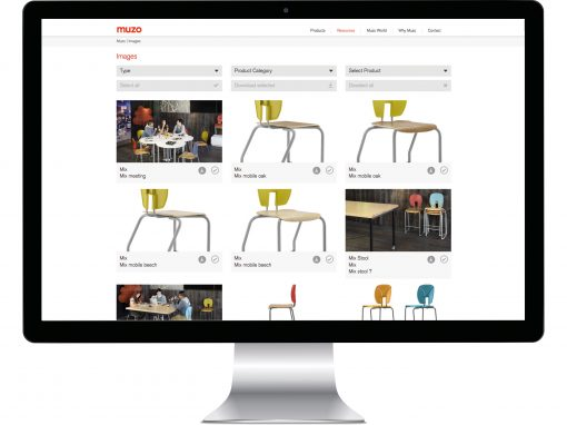 Office Furniture Website Development