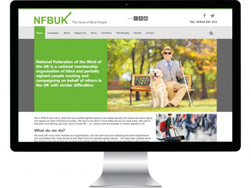 NFBUK Website Design